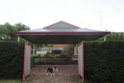 Dutch Gable Roof Carport 1