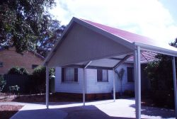 Gable Roof Carport 3