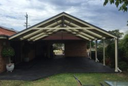 Gable Roof Carport 6