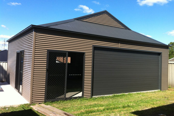 Outwest garages sheds carports garden sheds garages for Gable roof garage