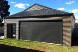 Dutch Gable Roof Garage 4