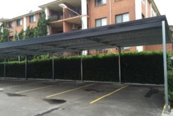 Flat Roof Carport 4